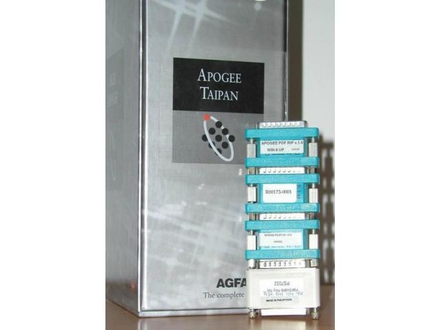 Agfa Apogee Workflow-Sytemsoftware - 1