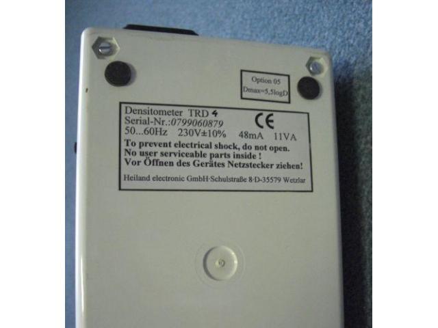 Heiland TRD-4 Durchlichtdensitometer - 2