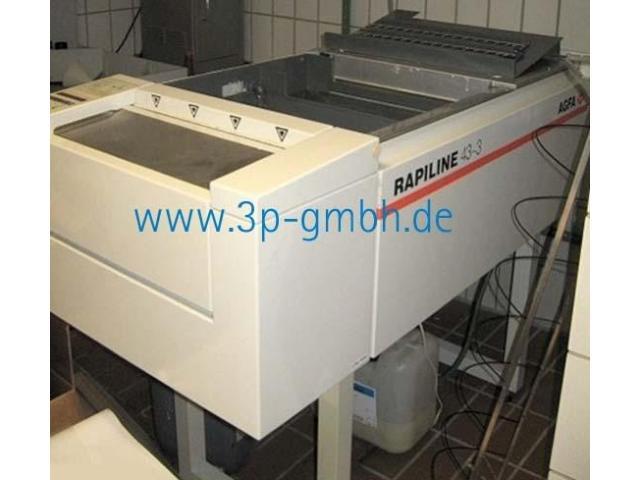 Agfa Rapiline Filmentwicklungsmaschine - 4