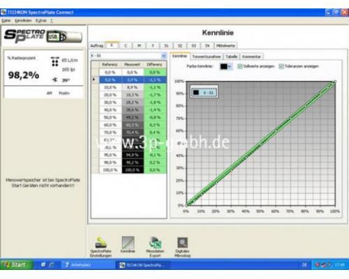 Techkon Spectro-Plate Druckplatten-Messgerät - Bild 2