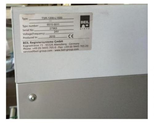 Beil / Technografica Druckplattenstrassen-Zwischentisch - Bild 4