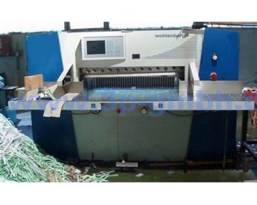 Wohlenberg cut-tec 115 Schneidemaschine - Bild 1