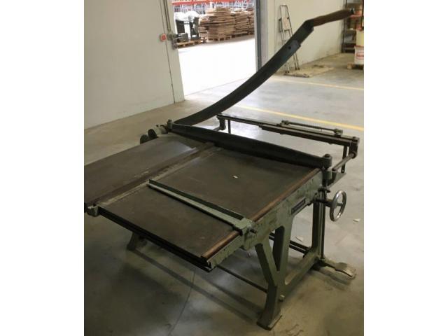 Schimanek Typ 10 Pappenschere mit Untergestell - 1
