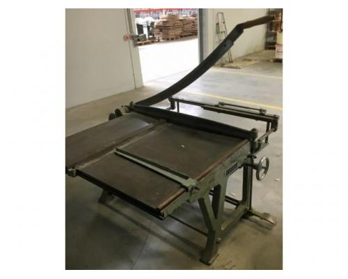 Schimanek Typ 10 Pappenschere mit Untergestell - Bild 1