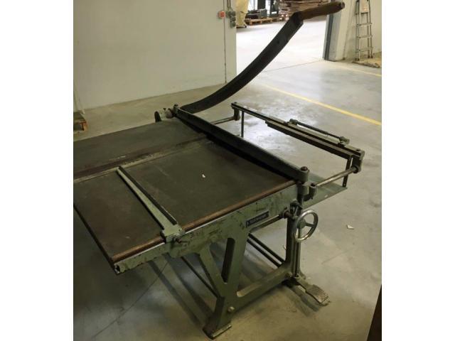 Schimanek Typ 10 Pappenschere mit Untergestell - 2