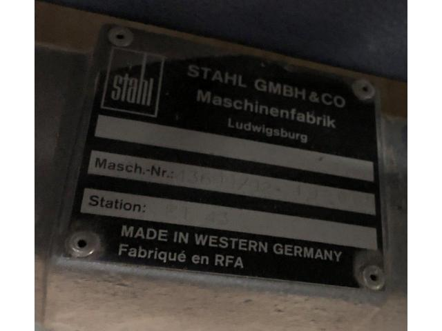 Heidelberg Stahlfolder ET 43 A mobiler Eckfördertisch - 2