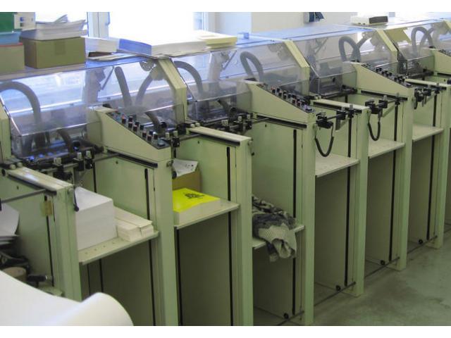 c. p. Bourg Modulen Zusammentragmaschine - 3