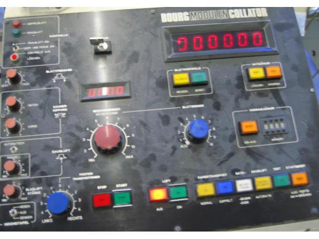 c. p. Bourg Modulen Zusammentragmaschine - 4