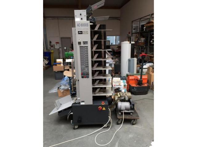Horizon AC-8000 S Einzelblatt-Zusammentragturm - 6