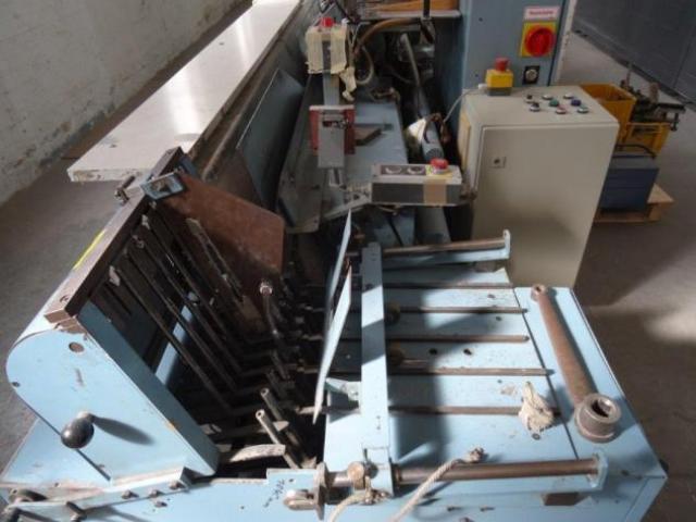 Ehlermann ZTM 222 Signaturen-Lagen-Zusammentragmaschine - 5