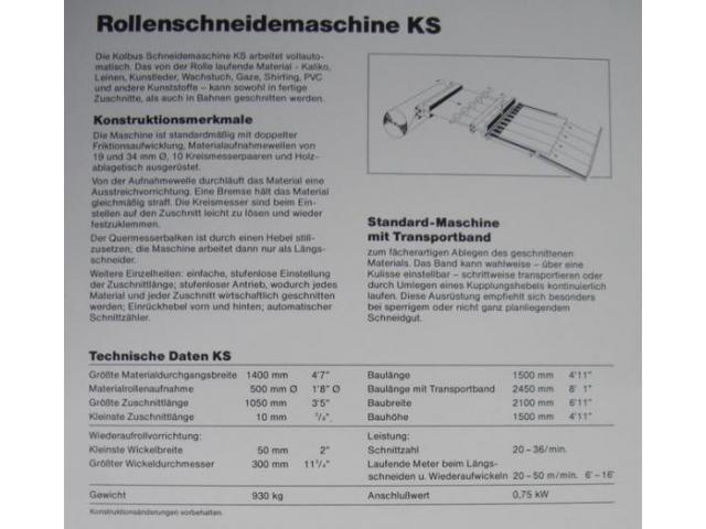 Kolbus KS Kalikoschere - 2