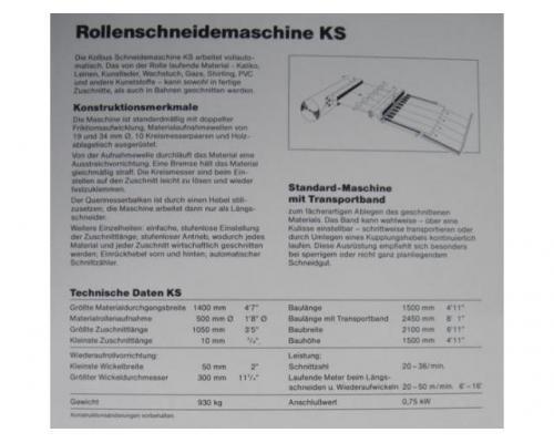 Kolbus KS Kalikoschere - Bild 2