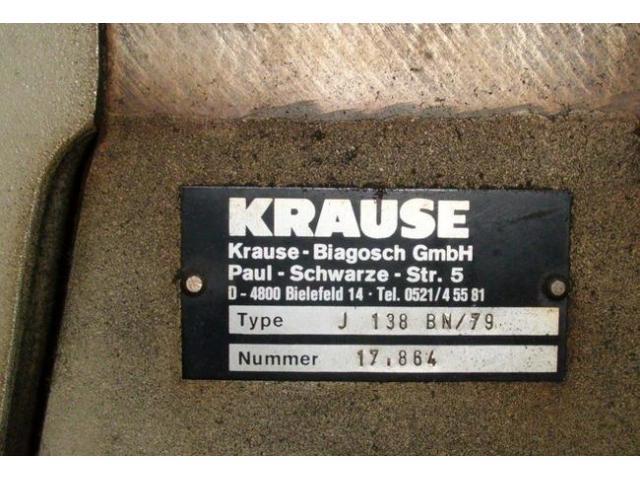 Krause Biagosch J 138 BN Pappen-Kreisschere - 2
