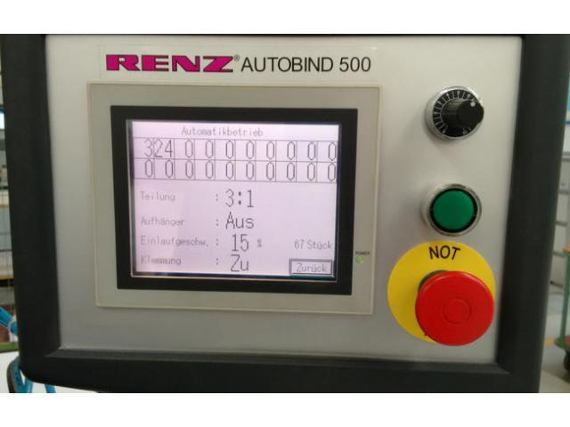 Renz Autobind 500 Kalenderbindemaschine - 2