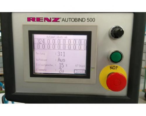 Renz Autobind 500 Kalenderbindemaschine - Bild 2