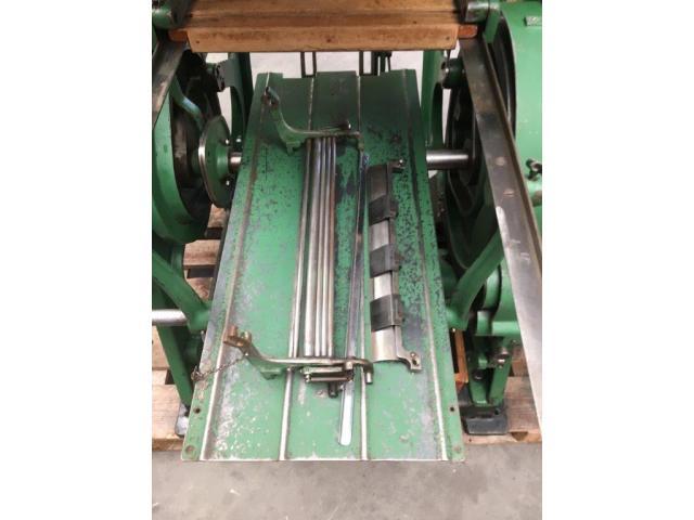 Brehmer 39 3/4-2 halbautomatische Buchblock-Fadenheftmaschine - 5