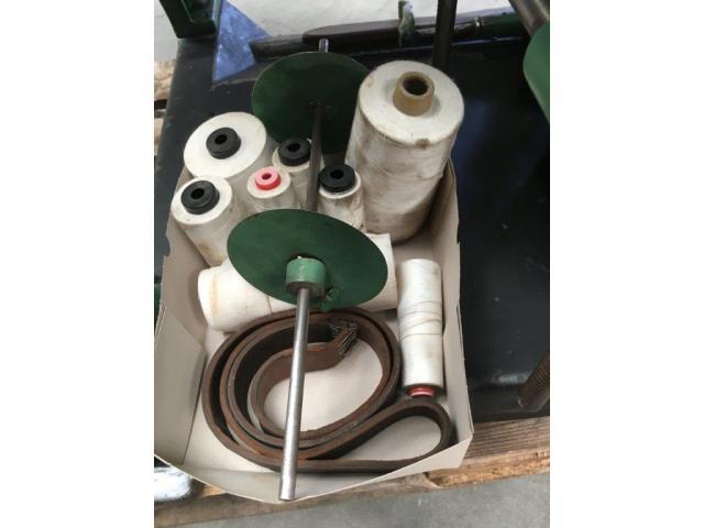 Brehmer 39 3/4-2 halbautomatische Buchblock-Fadenheftmaschine - 6