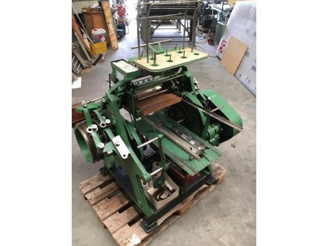 Brehmer 39 3/4-2 halbautomatische Buchblock-Fadenheftmaschine - 8