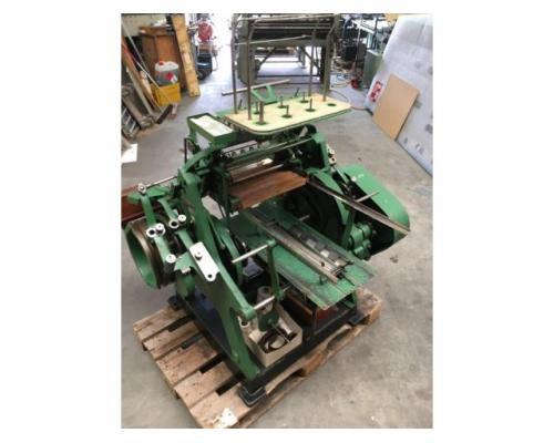 Brehmer 39 3/4-2 halbautomatische Buchblock-Fadenheftmaschine - Bild 8