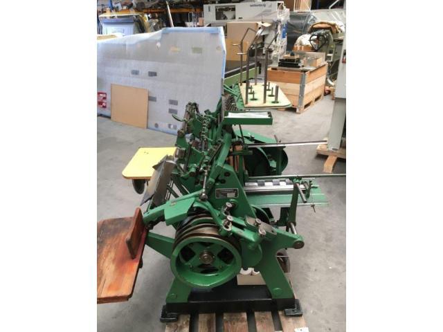 Brehmer 39 3/4-2 halbautomatische Buchblock-Fadenheftmaschine - 10