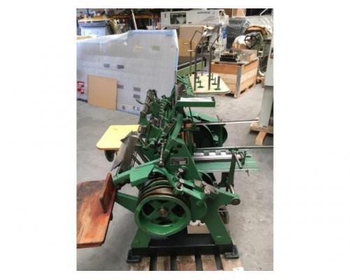 Brehmer 39 3/4-2 halbautomatische Buchblock-Fadenheftmaschine - Bild 10