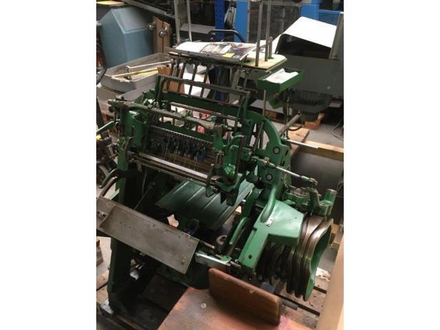 Brehmer 39 3/4-2 halbautomatische Buchblock-Fadenheftmaschine - 11