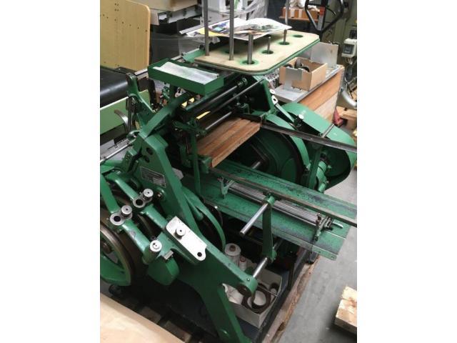 Brehmer 39 3/4-2 halbautomatische Buchblock-Fadenheftmaschine - 13