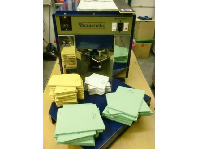 Vacuumatic Selectomat 80 Papierbogenzählmaschine - 2
