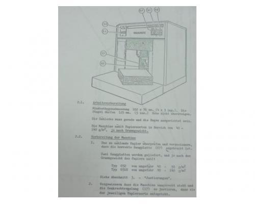 Vacuumatic Selectomat 80 Papierbogenzählmaschine - Bild 3