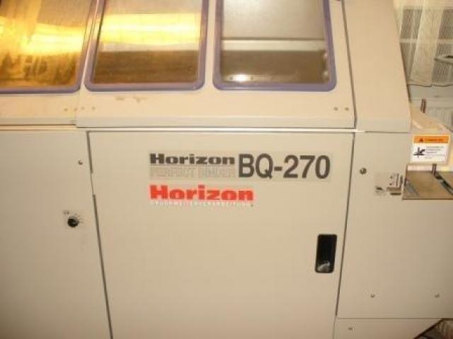 Horizon BQ 270 Einzangen Klebebinder - 6