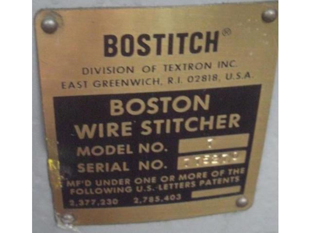 Bostitch Model 1 Drahtheftmaschine - 2