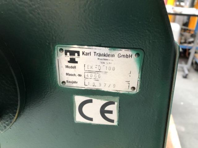 Karl Tränklein EK-D 100 Doppeleckenrundstossmaschine - 8
