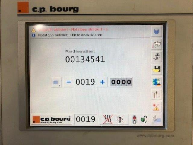 Bourg BB 3002 PUR Einzangen-Klebebinder - 2