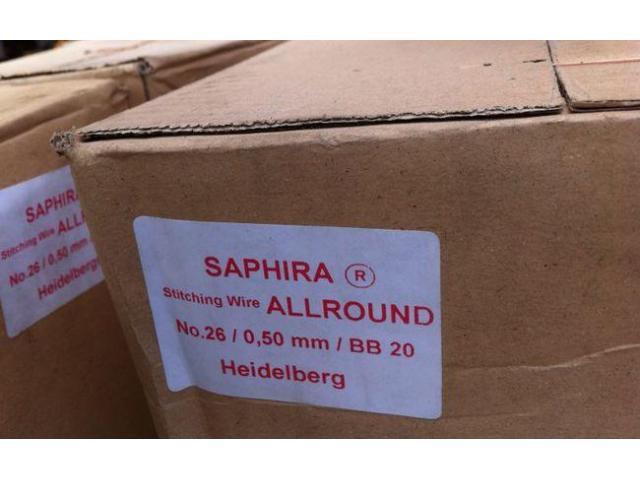 Heidelberg Saphira Heftdraht - 2