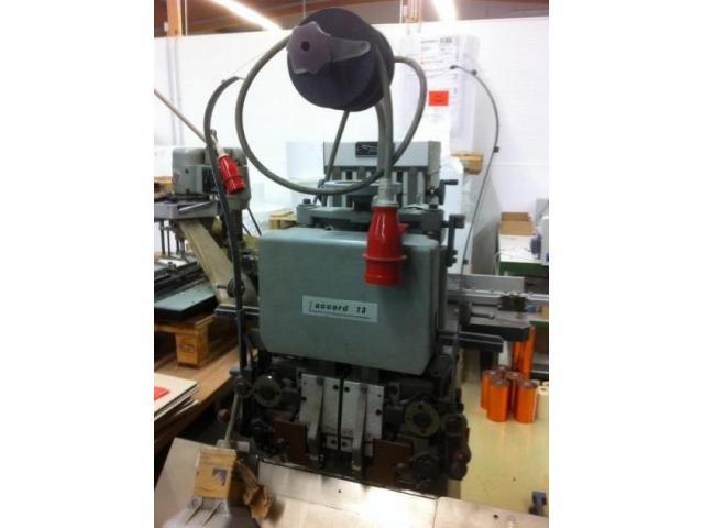 Hohner Accord 13 Drahtheftmaschine - 2
