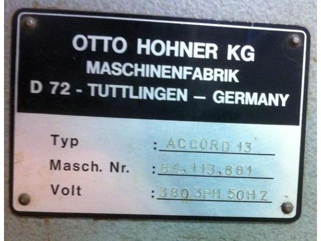 Hohner Accord 13 Drahtheftmaschine - 3