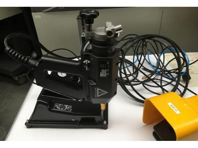Reka TR 55 LCD HT pneumatische Heissklebepistole - 3