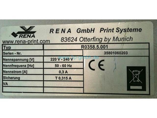 Neopost/RENA 608 S Direktadressierer - 6