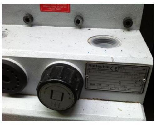 Rietschle-Elmo KTA 80.1 Drehschieber-Druck-Vakuumpumpe - Bild 3