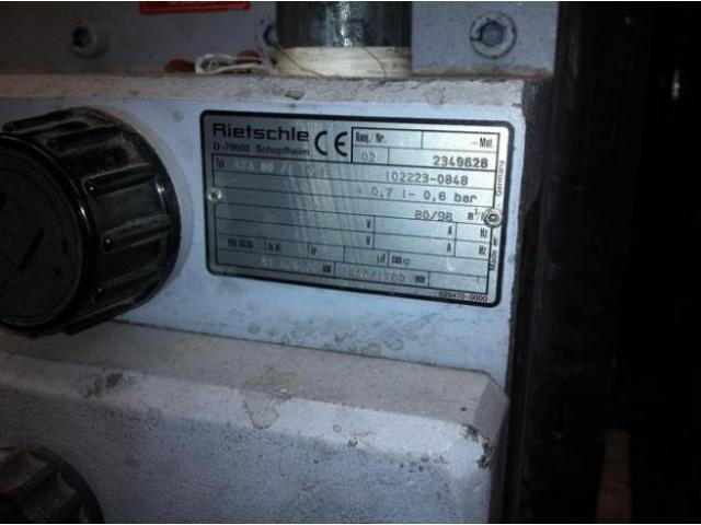 Rietschle-Elmo KTA 80.1 Drehschieber-Druck-Vakuumpumpe - 4