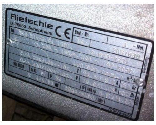 Elmo-Rietschle Seitenkanalverdichter Gebläse SKG 314-2 - Bild 2