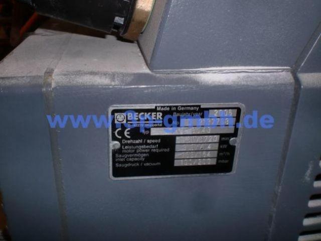Becker KVT 3.140 Drehschieber-Vakuumpumpe - 3