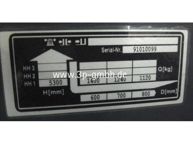 Jungheinrich ETV 214 AC Elektro-Schubmaststapler - 4