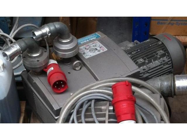 Ehrler & Beck DVT 3.80 Druck- und Vakuumkompressor - 1