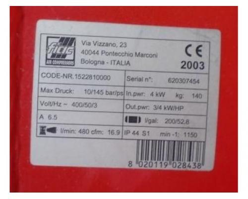 FIAC AB T 200-480 Kolbenkompressor - Bild 4