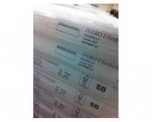 Feinpapier Ivero Elfenbeinkarton Leinen - Bild 1