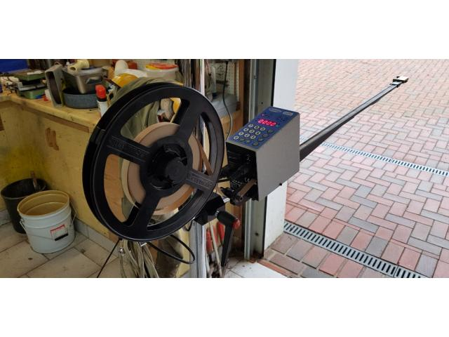 600 mm Kanallänge Vacuumatic Cuti 2 Streifeneinschußgerät - 1