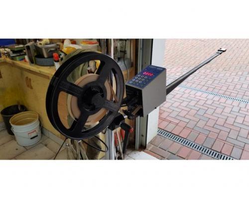 600 mm Kanallänge Vacuumatic Cuti 2 Streifeneinschußgerät - Bild 1