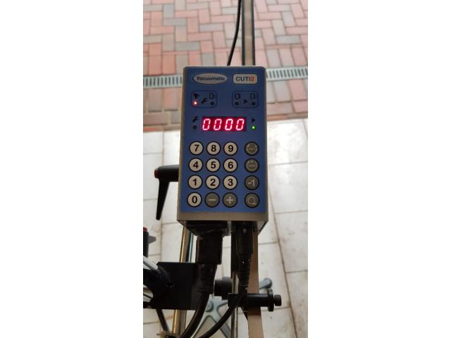 600 mm Kanallänge Vacuumatic Cuti 2 Streifeneinschußgerät - 2