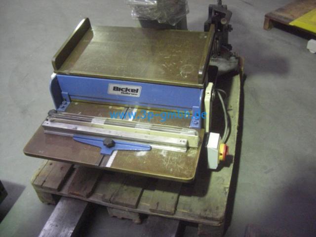 Bickel 30-50 Nut- und Perforiermaschine - 1
